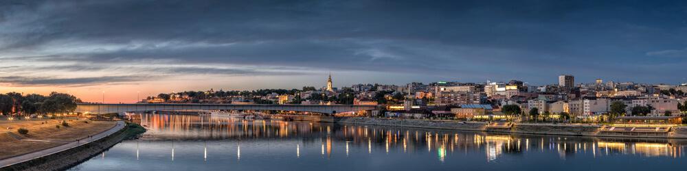 Belgrade depuis Roissy