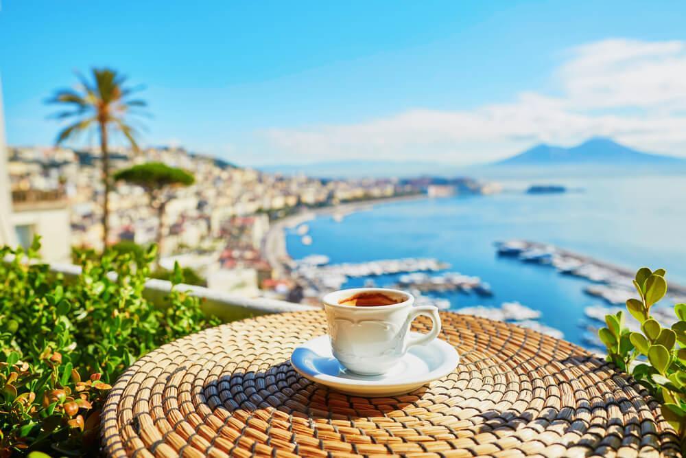 Naples depuis Roissy CDG